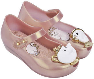 Mini Melissa Mini Ultragirl Beauty And The Beast Flat