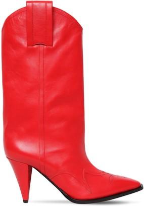Nina Ricci 90mm Leather Cowboy Boots