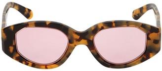 Karen Walker Castaway Crazy Tort Sunglasses