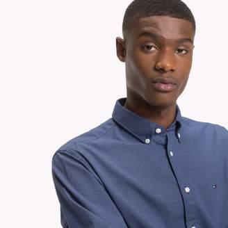 Tommy Hilfiger Cotton Poplin Pindot Shirt