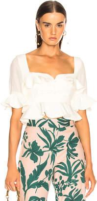 Alexis Faiza Top in White   FWRD