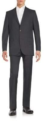 Saks Fifth Avenue Wool Jacket & Pants Set