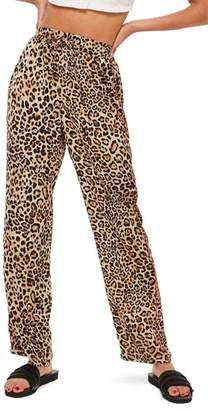 Topshop Animal Track Pants