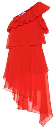Givenchy Silk one-shoulder dress