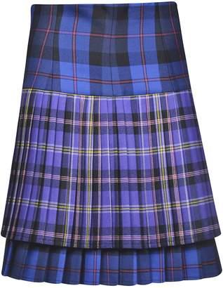 Versace Tartan Skirt