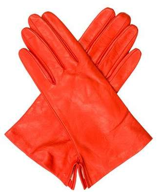 Judith Leiber Leather Gloves