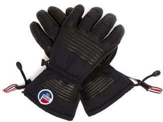 Fusalp - Albinen Technical Leather Ski Gloves - Womens - Black