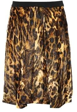 Isabel Marant Tanza leopard-printed skirt