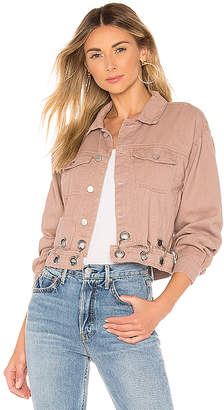 superdown Kylie Crop Denim Jacket.
