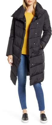 Halogen Long Puffer Coat