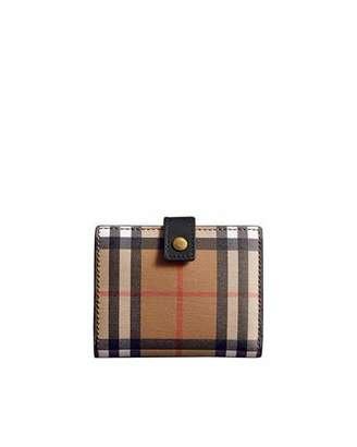 Burberry Lakeside Vintage Check Wallet