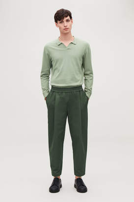 Cos WIDE-LEG CHINOS WITH PLEATS