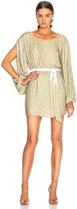 Retrofete retrofete Selma Dress in Champagne Sequin | FWRD