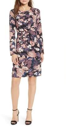 Vero Moda Marlene Floral Drape Dress