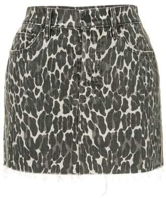 Mother leopard print skirt