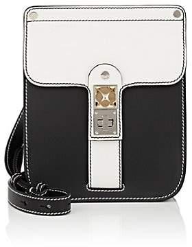 Proenza Schouler Women's PS11 Leather Box Bag - Wht.&blk.