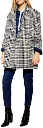 Topshop Pippa Check Coat