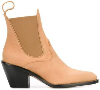 Chloé western chelsea boots