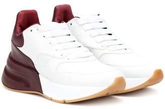 Alexander McQueen Oversized Runner leather sneakers
