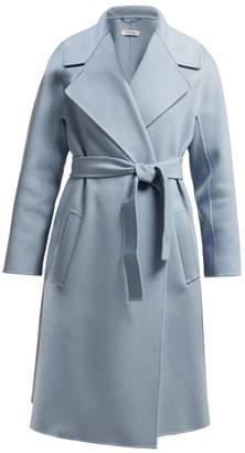 Max Mara S Dada Coat - Womens - Light Blue