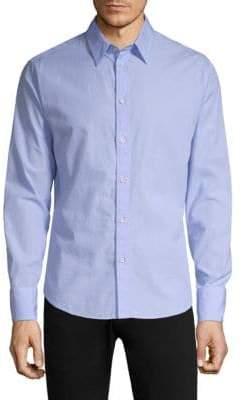 Rag & Bone Rag& Bone Rag& Bone Men's Slim-Fit Base Button-Down Shirt - Blue Multi - Size XXL