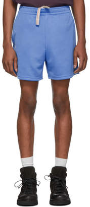 Acne Studios Blue Relaxed Fit Shorts