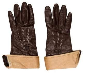 Fendi Cashmere Lined Gloves