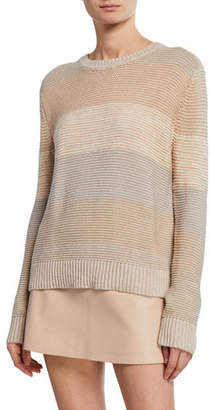 Sablyn Autumn Striped Colorblock Sweater