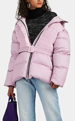 IENKI IENKI Women's Down-Quilted Oversized Coat - Pink