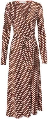 Diane von Furstenberg Tilly Wrap Dress