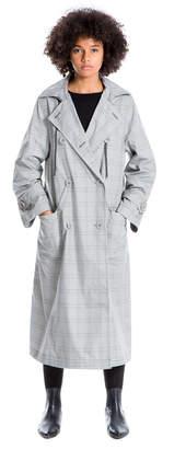Max Studio hooded raincoat