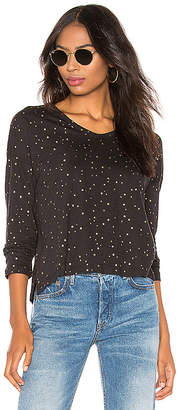 Sundry U Neck Long Sleeve Tee
