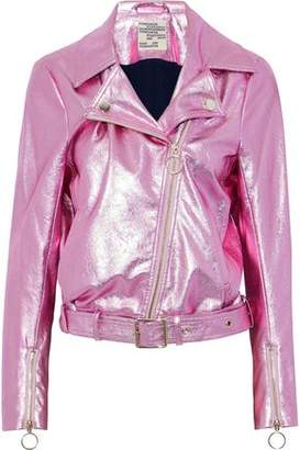 Baum und Pferdgarten Britany Metallic Faux Leather Biker Jacket