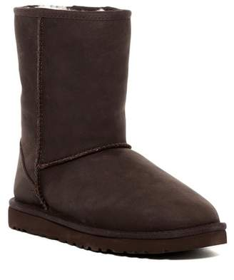 UGG Classic Short Leather Boot (Women)