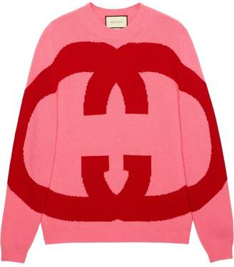 Gucci Wool sweater with Interlocking G