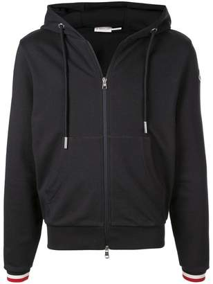 Moncler classic zipped sweater