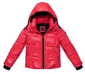 S13 Little Boy's Nylon Quilted Bomber Jacket