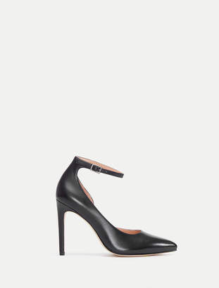 Halston Margo In Berlin Pointed Toe Heel with Ankle Strap