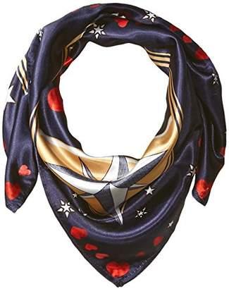 Orchid Row Women's Interstellar Love Silk Effect Fashion Bandana Scarf O/S