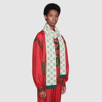 Gucci Dapper Dan wool scarf