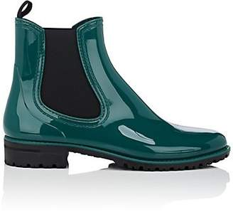 Barneys New York Women's PVC Rain Boots - Dk. Green