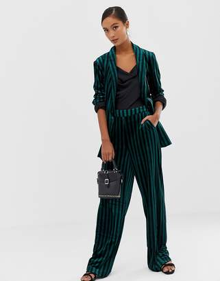 Soaked in Luxury Soaked In Luxury stripe suit pants