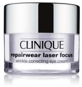 Clinique Women's Repairwear Laser Focus Wrinkle Correcting Eye Cream