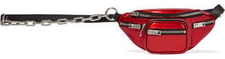 Alexander Wang Attica Mini Patent-leather Belt Bag - Red