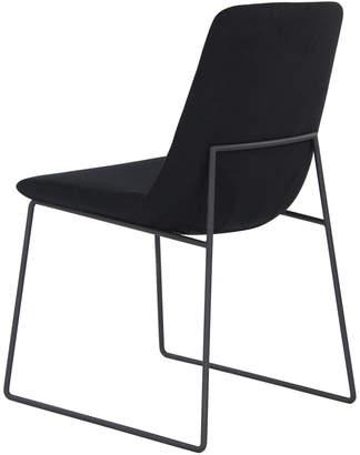 Lulu & Georgia Clark Dining Chair, Black (Set of 2)