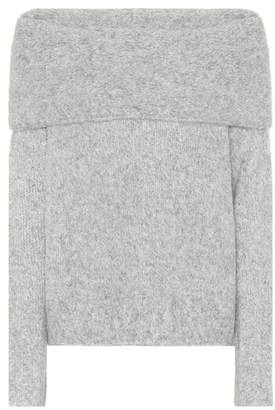 Vince Alpaca off-the-shoulder sweater