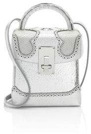 The Volon The Volon Women's Great L. Alice Box Bag - Silver