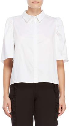 Norr Amanda Puff Sleeve Shirt