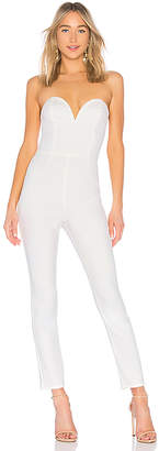 by the way. Carina Sweetheart strapless jumpsuit
