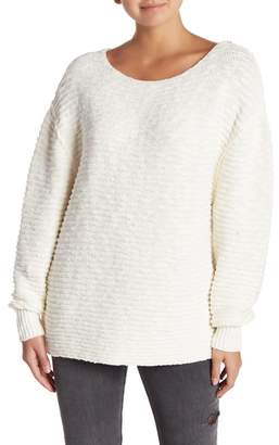 Free People Menace Solid Tunic Sweater